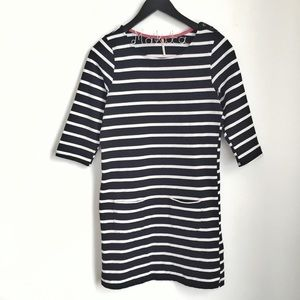 🛍 •Nine 1 Eight• Striped Dress with Pockets